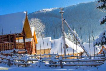 отель озеро Синевир